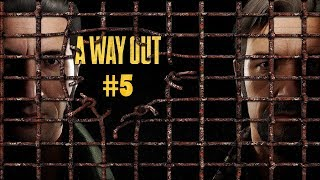 Climbing Shafts and Working With Wood - A Way Out Gameplay Part 5