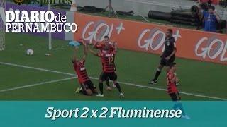 Sport empata com o Fluminense na Arena Pernambuco