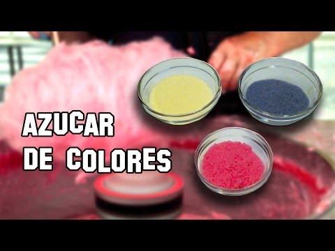 Recetas de Cocina   Como Hacer Azúcar de Colores para Algodón de Azúcar