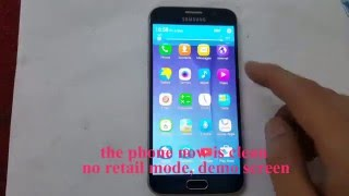 "How to remove Samsung Retail mode - ""mdm does not allow factory reset"""
