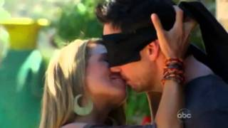Wes Hayden, Bachelor Pad, Kissing Contest