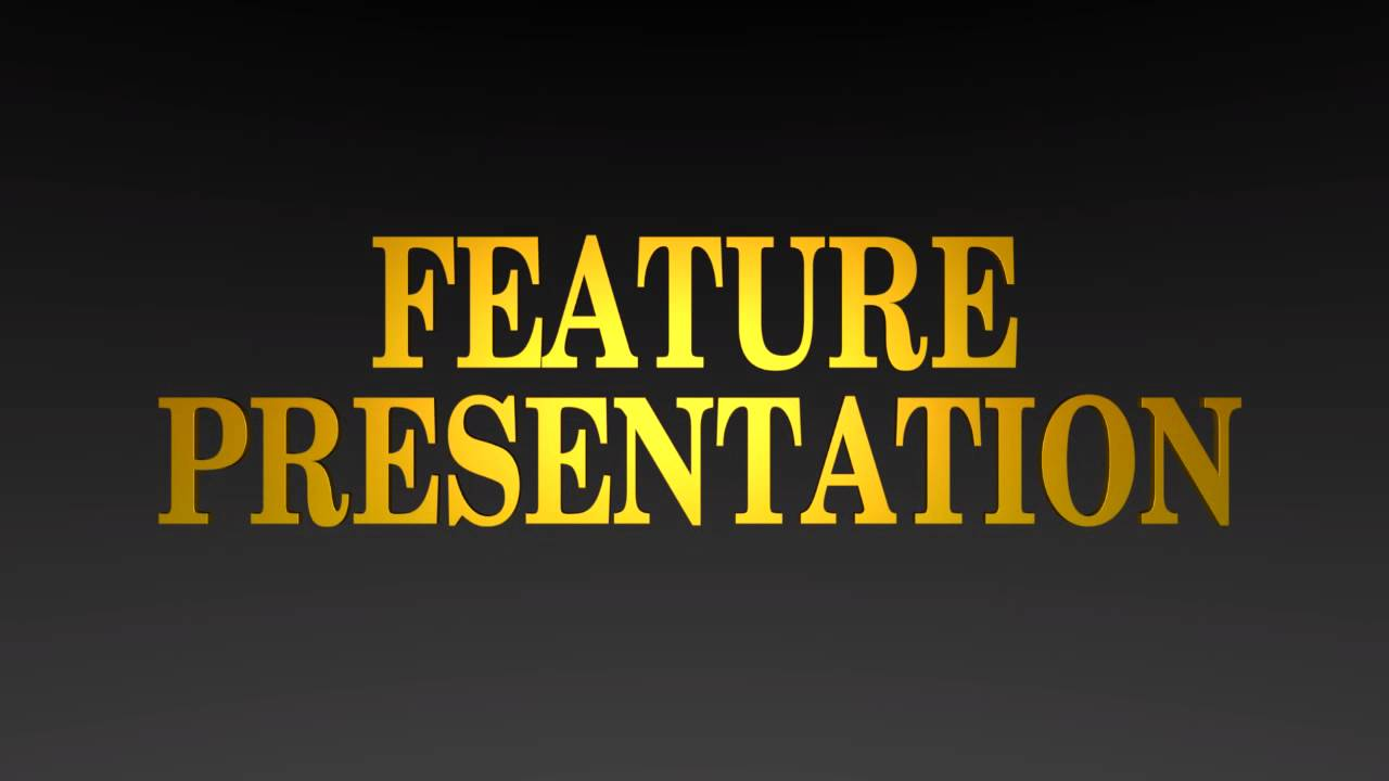 Gold Feature Presentation logo in Blender (Version #2 ...
