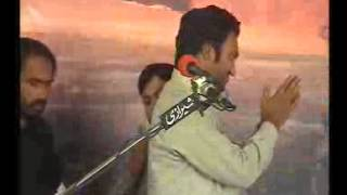 Zakir muntazir mahdi -qasida Na sijdae gawa-majlis mar 2013 3chak bhalwal