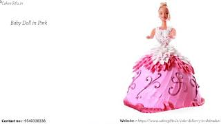Are you looking for an website to order their favorite Barbie doll cake for your daughter or sister?
