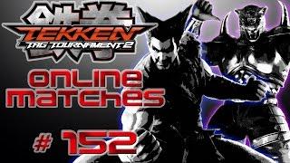 Tekken Tag Tournament 2 - Online Matches Ep.152 | Eddy Smokes Marijuana? HAM Pizza!