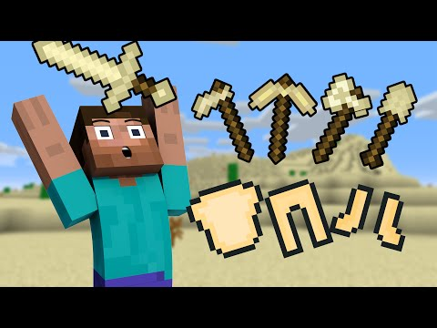 If SAND TOOLS and ARMOR were added to Minecraft