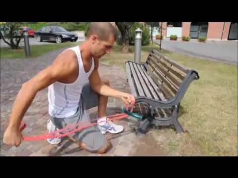 allenamento con elastici Loop Bands®
