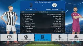 """Juventus vs Manchester City Champions League """"Lv.BrodoStar"""" 