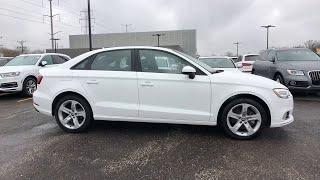 2018 Audi A3 Sedan Lake forest, Highland Park, Chicago, Morton Grove, Northbrook, IL AP8817