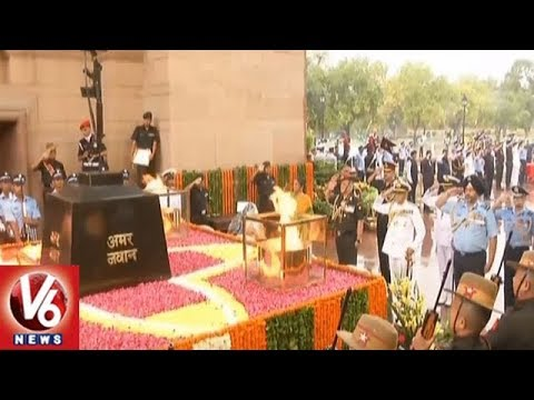 India Pays Tribute To Martyrs On Kargil Vijay Divas | V6 News