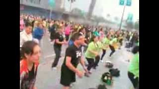 FIT TIME, Extravaganza Latina Herbalife 2013 con Samantha Klayton en Los Angeles, Ca
