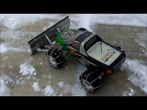 The Tamiya TL-01 Snow Plow Truck Project (Original)
