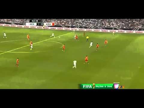 André Schürrle Amazing Backheel goal 1 0 Germany vs Armenia Friendly Match