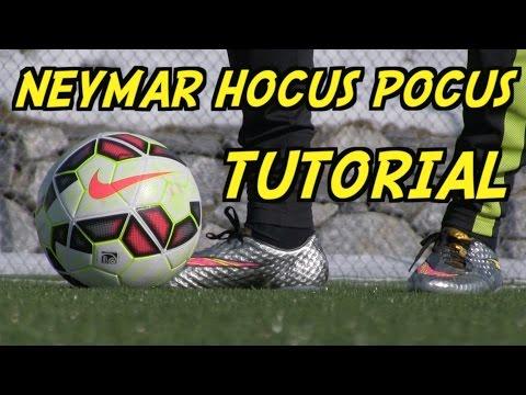 Learn AMAZING Skills #12: NEYMAR HOCUS POCUS Tutorial   How To Do The Neymar Hocus Pocus   by 10BRA