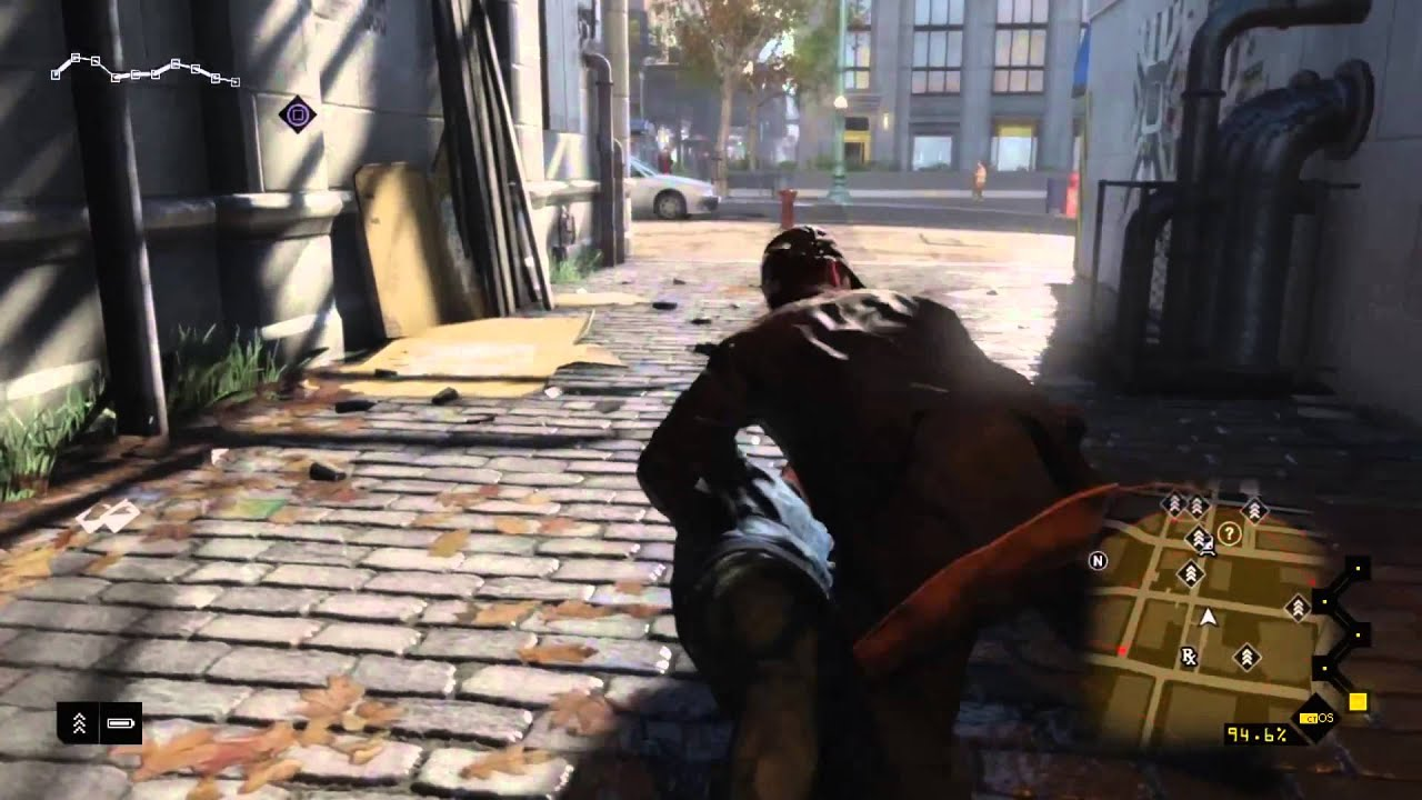 Watch Dogs Ps Gameplay Part