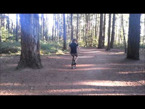 Lost Woods On Accordion...on A Unicycle...in The Woods video
