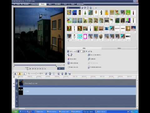 Ulead Video Studio 11 PLUS - poradnik (część 1)