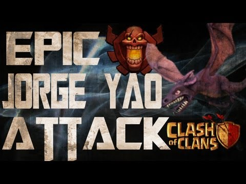 Jorge Yao Clash Of Clans Attack on a Top 10 Player!