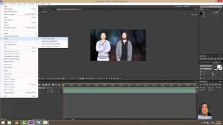 Adobe After Effect İle Greenbox Arkaplana Video Eklemek