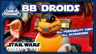 Custom BB-Unit Astromech at Droid Depot Full Review- all personality chips sounds