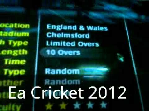 Ea Sports Cricket 2012 Game play