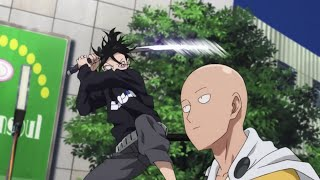 One Punch Man - Saitama vs Sonic 2nd time HD [eng sub]