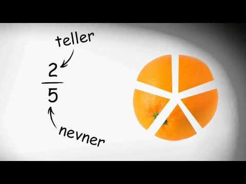 Brøk - video 1 - Hva er brøk?