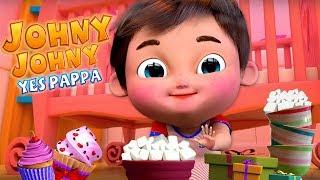 Johny Johny yes papa , Baby Shark , Five Little Ducks , Twinkle Twinkle Little Star , ABC Songs