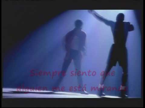 Michael Jackson & Rockwell Somebody´s Watching Me Traducido En EspaÑol video