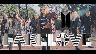 K-POP IN PUBLIC COLOMBIA_ BTS 방탄소년단 _ FAKE LOVE _ Dance Cover 댄스커버 - Aeternum Dance Crew