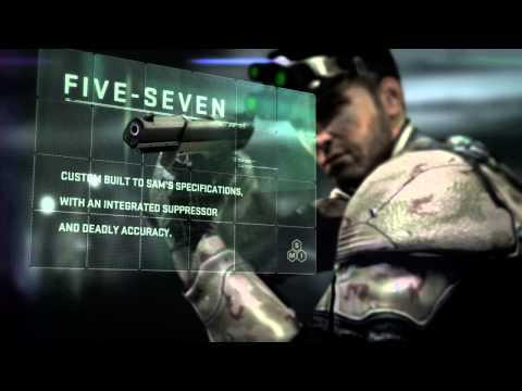 Splinter Cell Blacklist `Sam Fisher`s New Gear` Trailer