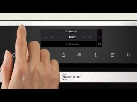 Новые духовые шкафы Neff с Full Touch Control