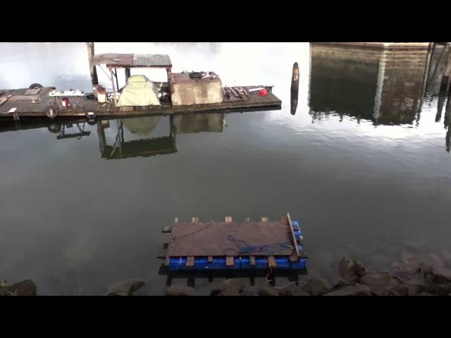 Clever Houseboat Living Homeless Improv