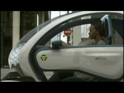 2011 Renault Twizy Z.E Concept Electric Vehicle