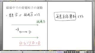 高校物理解説講義:「ローレンツ力」講義8