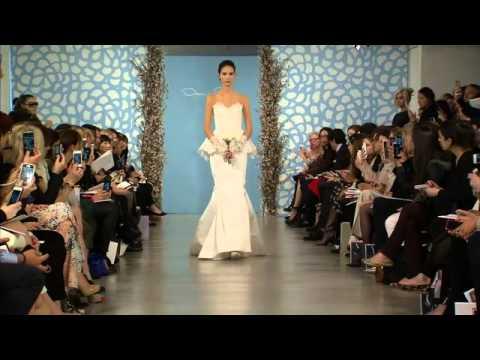 Vídeo do desfile dos vestidos de noiva Oscar de la Renta 2014