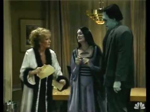 The Munsters Get A Visit From Mockingbird City Council.