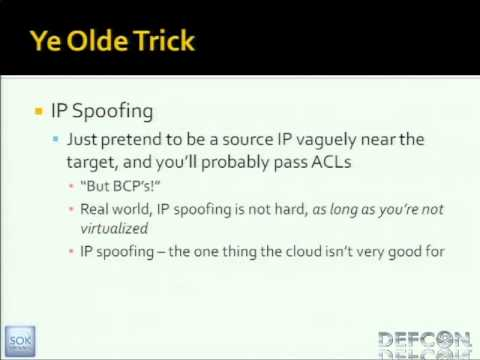 DEFCON 19: Black Ops of TCP/IP 2011