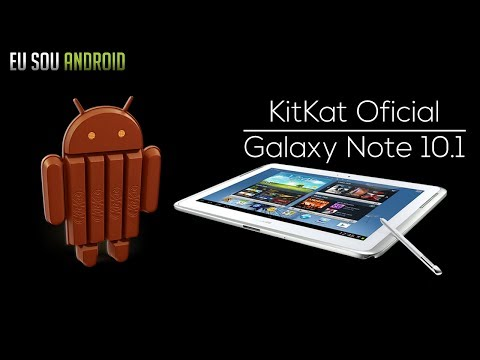 Tutorial - Android KitKat Oficial no Galaxy Note 10.1!
