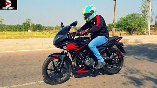 2019 Bajaj Pulsar 220F ABS First Ride Review #Bikes@Dinos