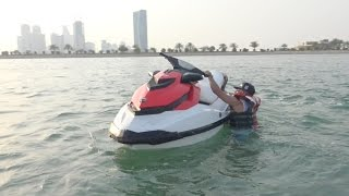 JET SKIING ACCIDENT!! (FELL IN SEA)
