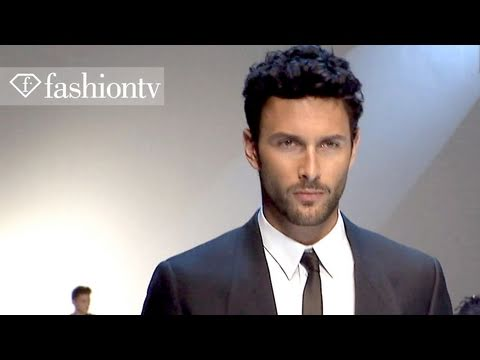 Dolce & Gabbana Full Show ft Noah Mills - Milan Men s Fashion Week Spring 2012 | FashionTV - FTV.com