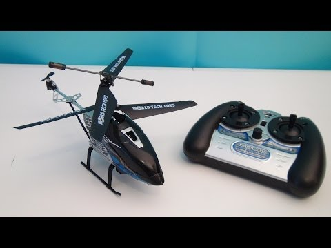 RADIO CONTROLLED HELICOPTER HERCULES NANO WORLD TECH TOYS REVIEW