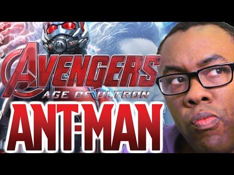 ANT-MAN Teaser & AVENGERS Ultron Trailer #2 Review : Black Nerd