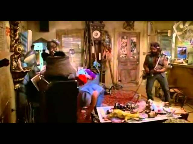 Cheech and Chong - playing guitar