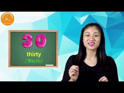 English for beginners lesson 2: NUMBERS - Tiếng anh giao tiếp cho người mới bắt đầu Bài 2: SỐ