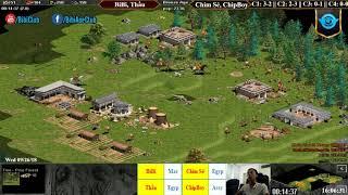 C3T2 - AoE 22 Random BiBi, Thầu vs Chim Sẻ, Chip Boy Ngày 26-9-2018