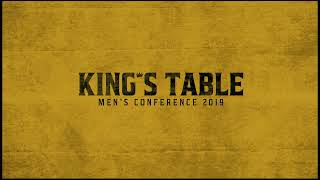 "KING""S TABLE!!!!!!! the Men of God are here and READY!"