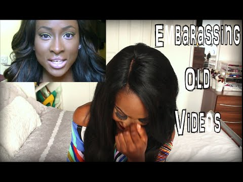 Reacting To My Old Videos | BeautybyJJ