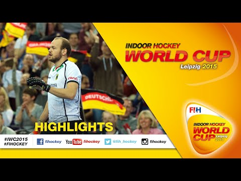 Germany vs Switzerland - Highlights Men's Indoor Hockey World Cup 2015 Germany Quarter-Final